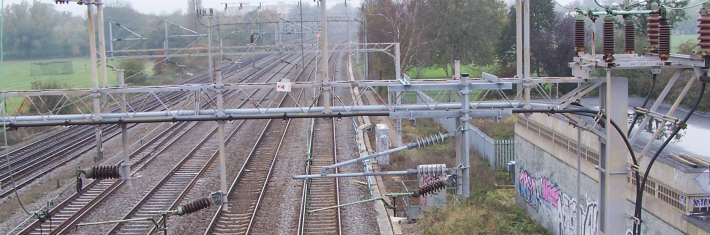 railway, Harrow, 2005