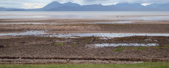 Foreshore at Applecross Bay, Scotland 2010